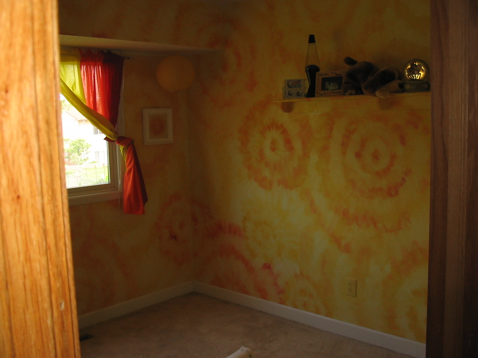 Tye Dye Bedroom