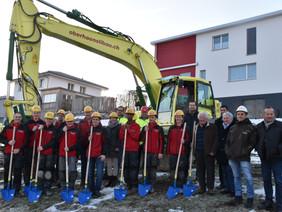 Oberhänsli Bau AG baut für Oberhänsli Bodenbeläge