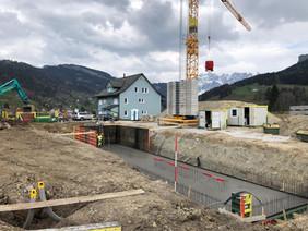 Neubau Laufstall