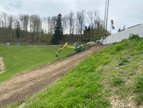 Strassensanierung Hulfteggstrasse Chillberg bis Passhöhe Hulftegg neigt sich dem Ende
