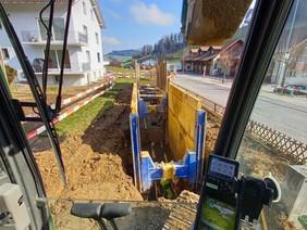 Trennsystem Unterdorf, Mosnang
