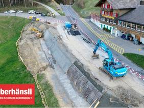 Strassensanierung Hulfteggstrasse Chillberg bis Passhöhe Hulftegg