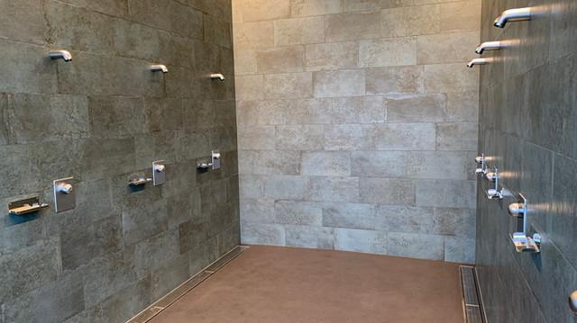 Duschanlage Schulhaus