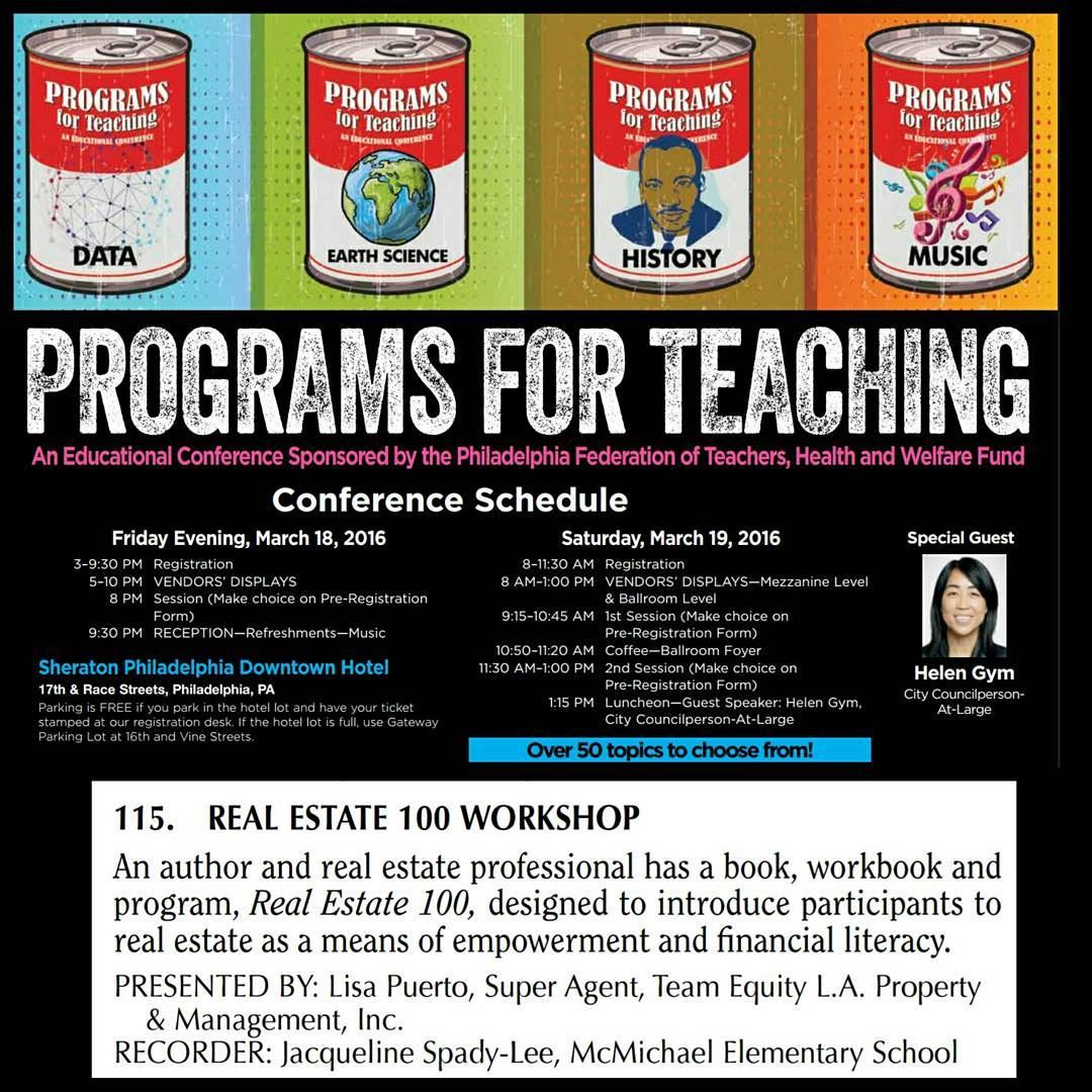 Programs for Teaching