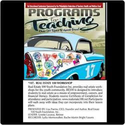 2017 Programs for Teaching