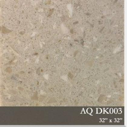 AQDK003 Resin Base Terrazzo Tile