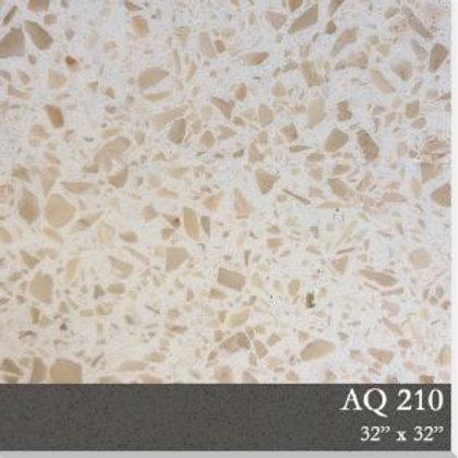 AQ0210 Resin Base Terrazzo Tile