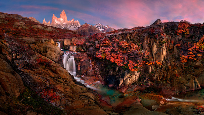FAF Gold Medal - Nature Sunrise in Patagonia - Yury Pustovoy - Russia