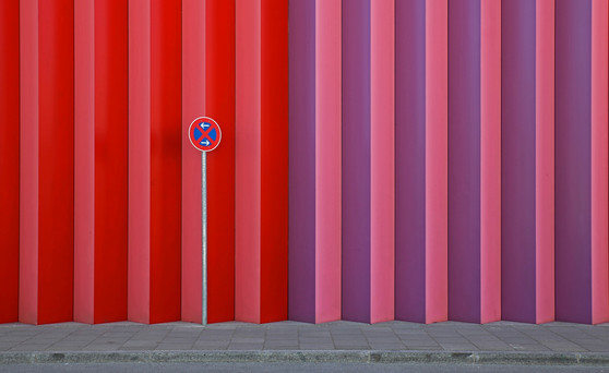 FIAP Gold Medal - Lines - No Parking - Walch MIchael - Germany