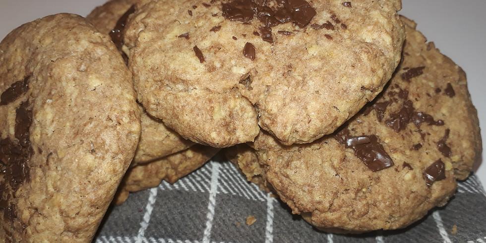 """Atelier culinaire """" cookies, brownies""""à partir de 5ans 36€."""