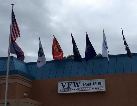 New Post Service Flag Display