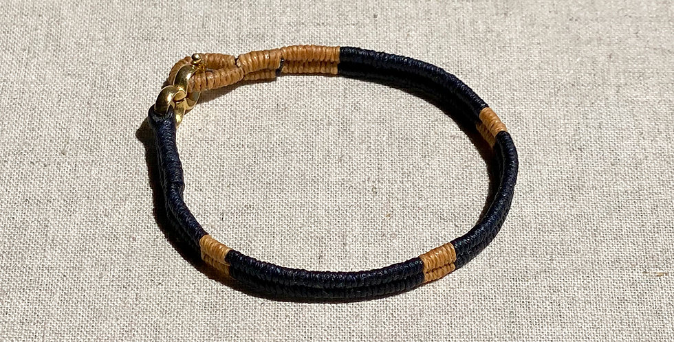 Serpentine Bracelet (navy 80/20)