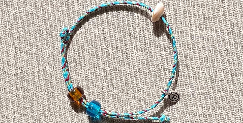 """Beach-Friendly"" Bracelet (blue)"