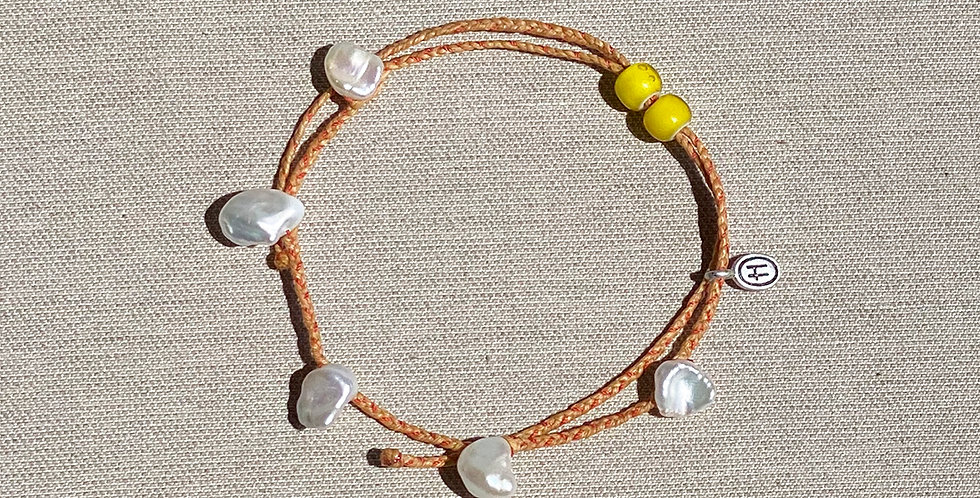 """""""Beach-Friendly"""" Anklet (natural)"""