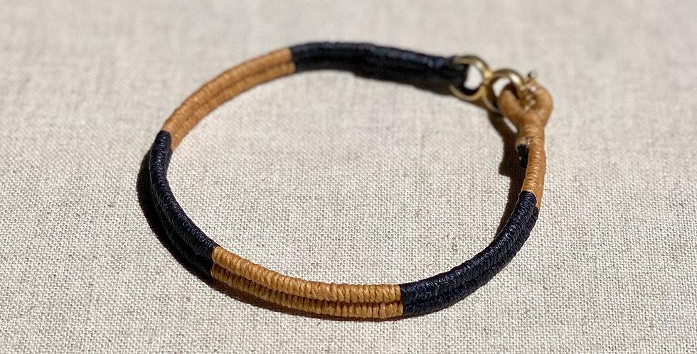 Serpentine Bracelet (navy 50/50)