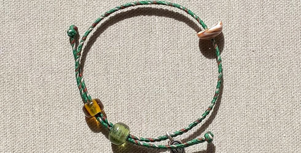 """Beach-Friendly"" Bracelet (green)"