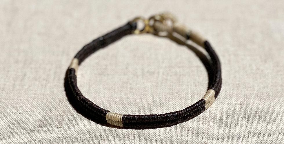 Serpentine Bracelet (black 80/20)