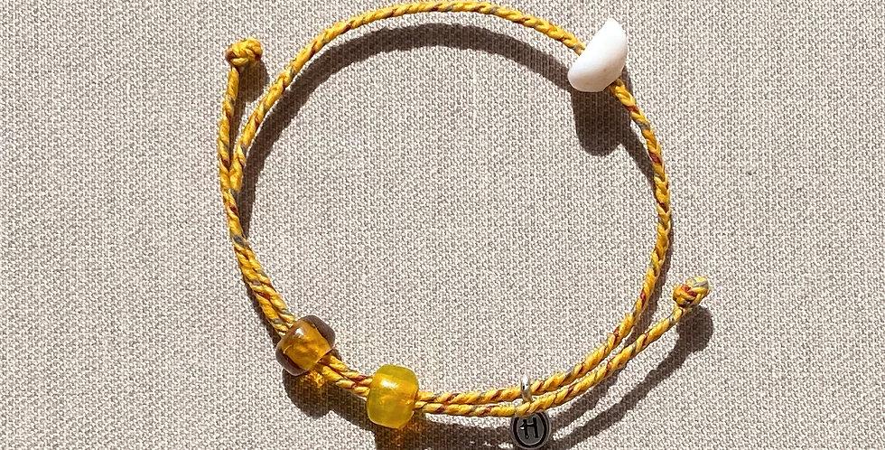 """Beach-Friendly"" Bracelet (yellow)"