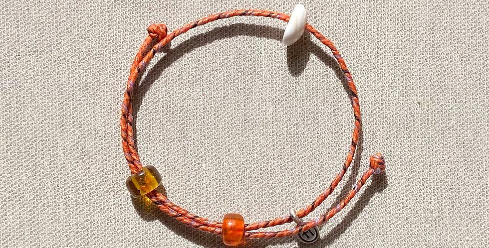 """Beach-Friendly"" Bracelet (orange)"