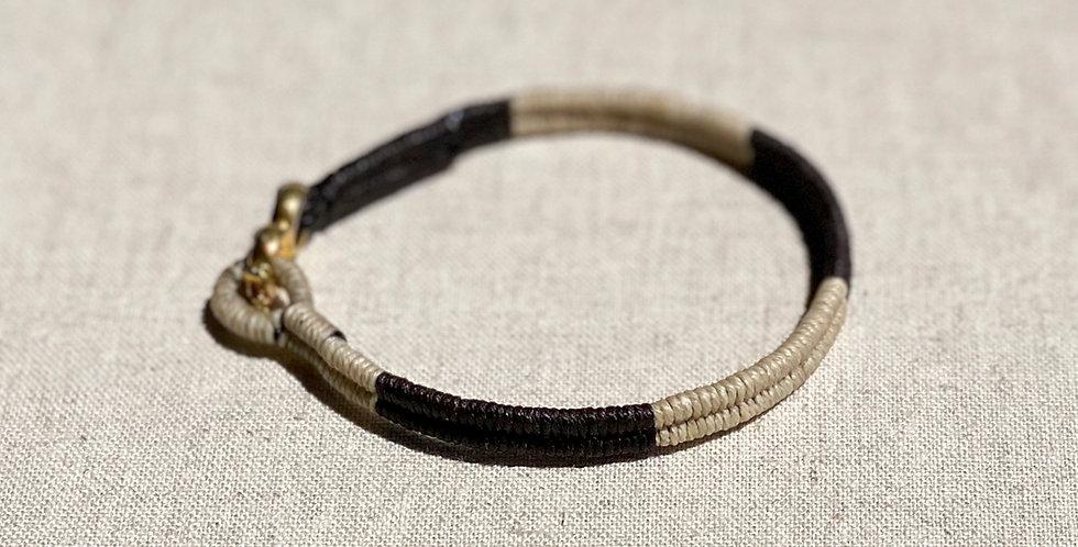 Serpentine Bracelet (black 50/50)