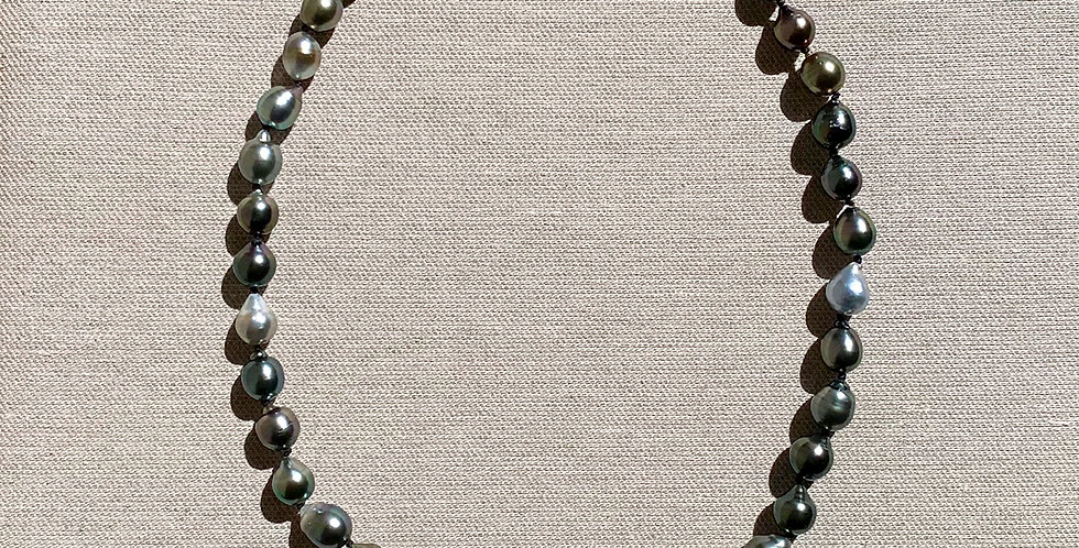 Love Necklace (Tahitian pearl)