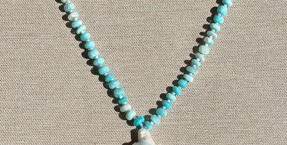 Malu Necklace (amazonite)