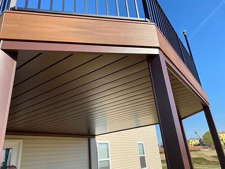 New Composite Deck with Underdecking