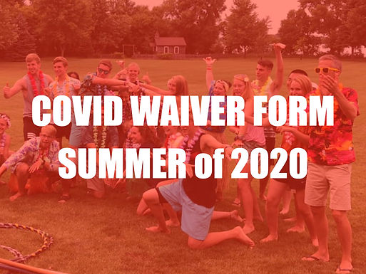 COVID Waiver 2020