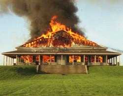 Clarke Hall Fire 2004