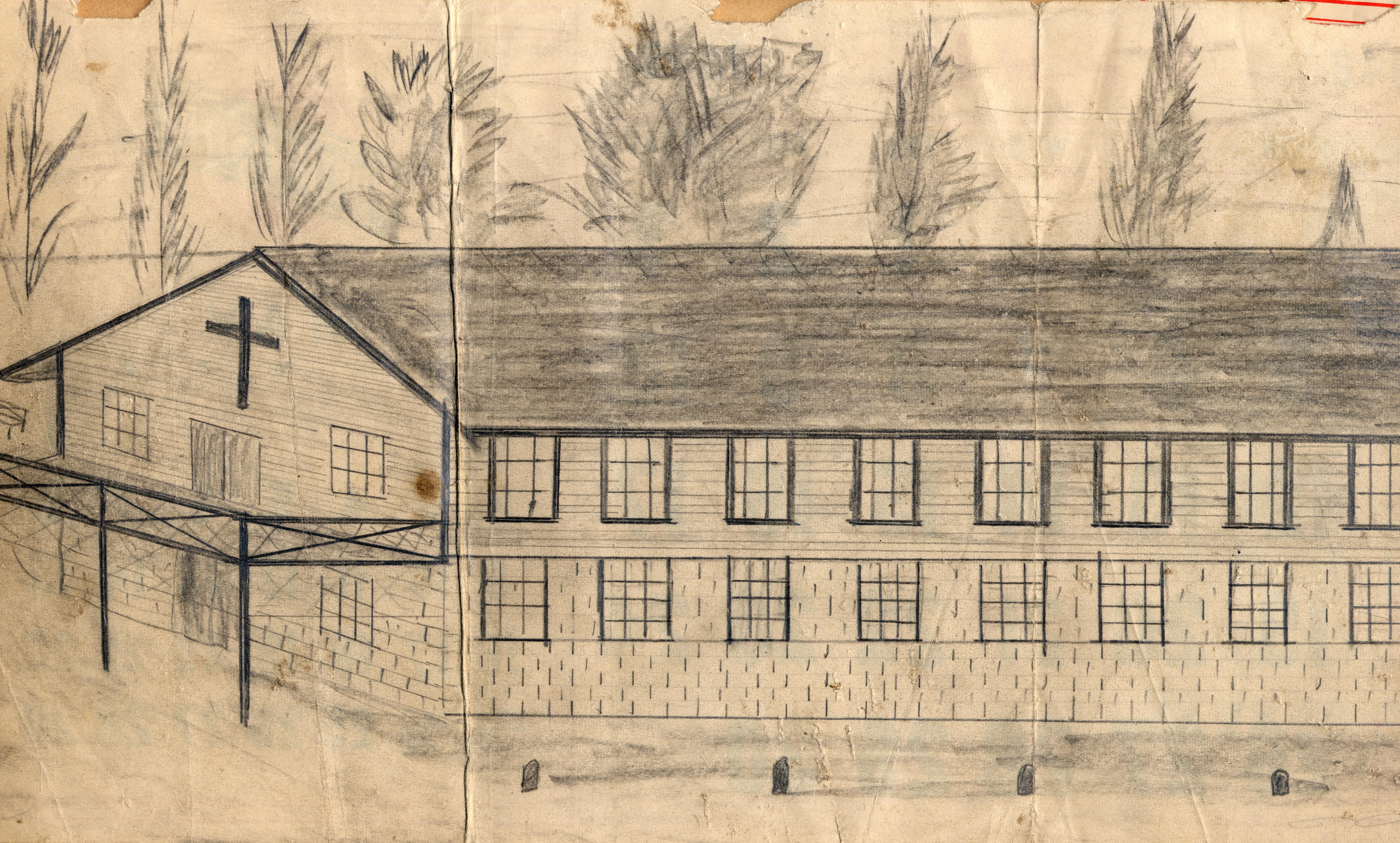 1st Chapel Plans 1948
