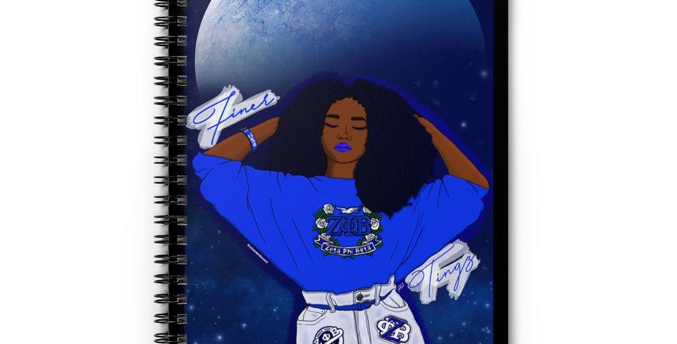 Finer Tingz Spiral Notebook - Ruled Line