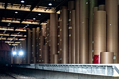 Canva - Large Paper Roll Storage Warehou