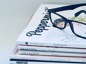 Canva - Photo of Eyeglasses On Top of Ma