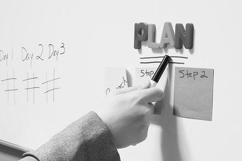 Tus metas, horarios y contenido de una Manera Organizada