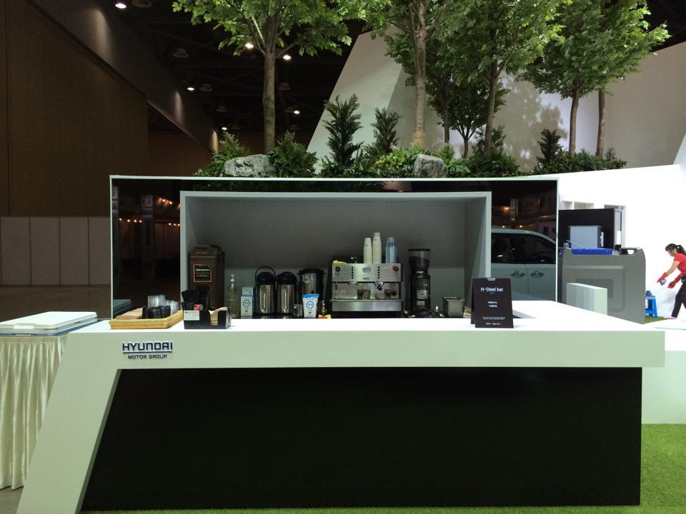 현대하이스코 커피부스1(킨텍스)