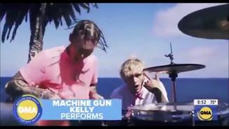 """Machine Gun Kelly ft. Travis Barker - """"Bloody Valentine / Concert For Aliens"""""""