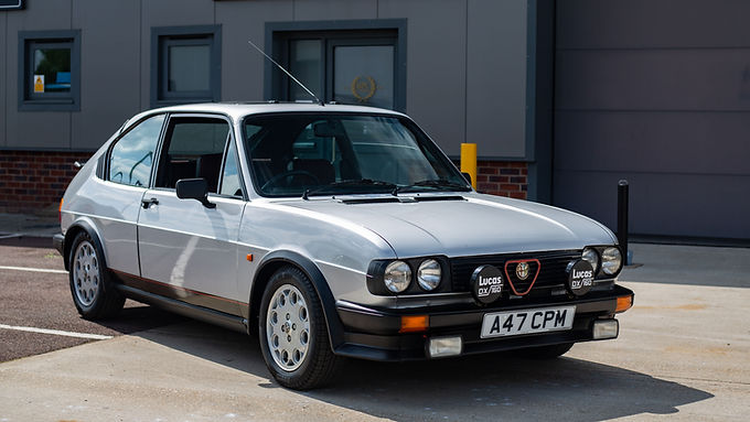 1983 Alfa Romeo Alfasud Ti