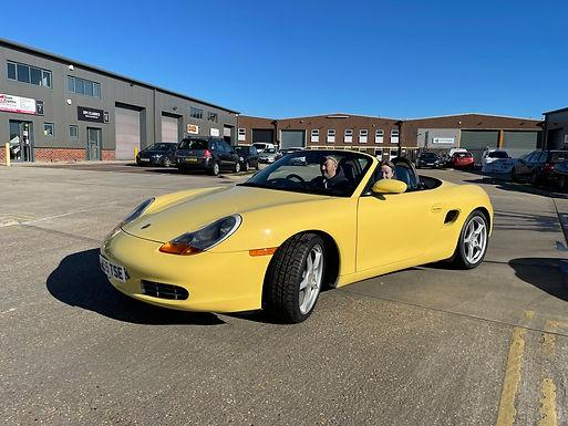1999 - Porsche Boxster 2.5 - Rare options