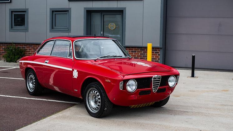 1967 Alfa Romeo GT 1300 Junior - GTV engine & interior.