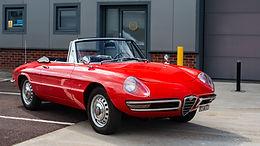 1967 Alfa Romeo Duetto Spider (1600 Engine)