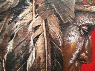 Indian Close up