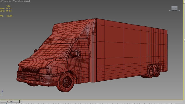 3D model of the vehicle