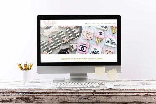 5-6 page E-commerce Website Design