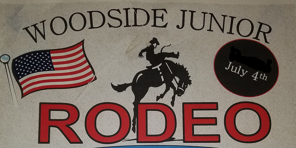 41st Annual Woodside 4th of July Junior Rodeo