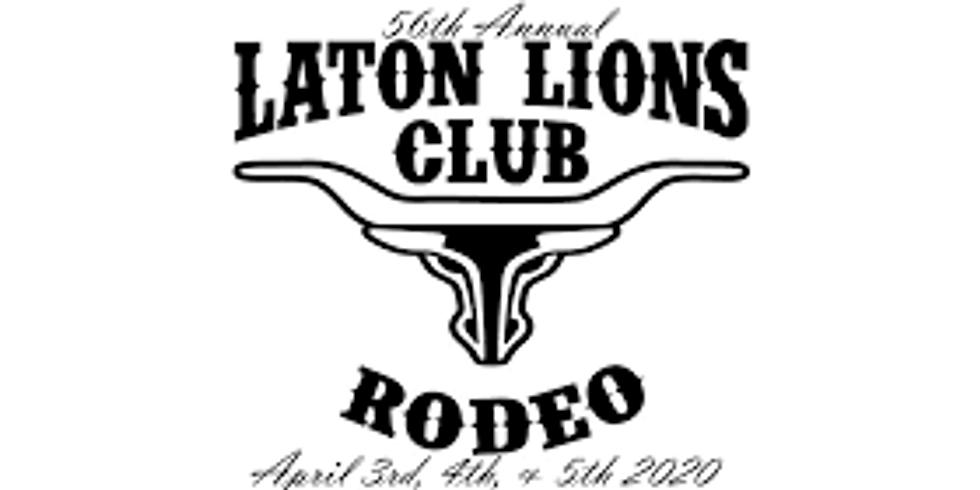 56th Annual Laton Lions Club Rodeo