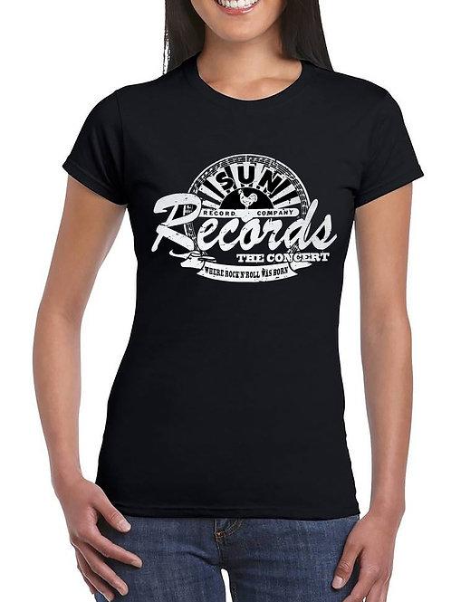 Sun Records The Concert Ladies T Shirt