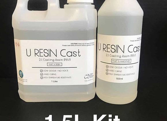 U Resin Cast 1.5 Litre