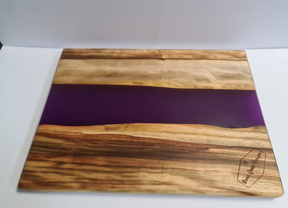 Fruit Collection - Dragonfruit timber and resin serving board