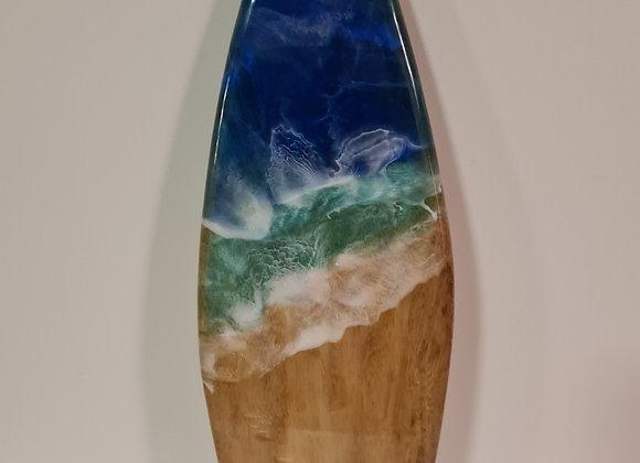 Resin Art - Mini Surfboard Wall hanging