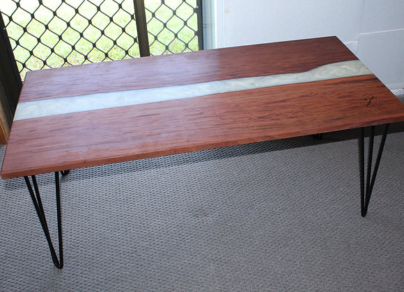 White Lake - Timber and resin coffee table